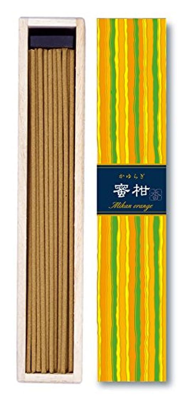 アート王族リーチ日本香堂 - かゆらぎ-蜜柑オレンジ スティック40本入り