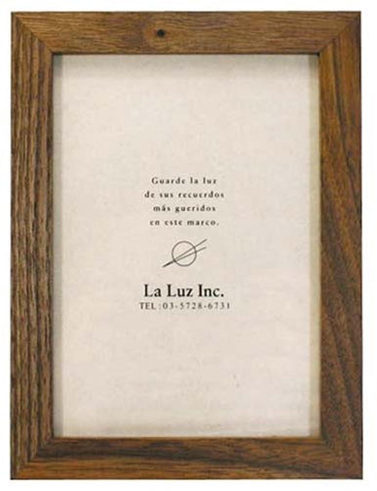 独創的緩やかな富La-Luz (ラ?ルース) ウォールナットフレーム ポスト 100700