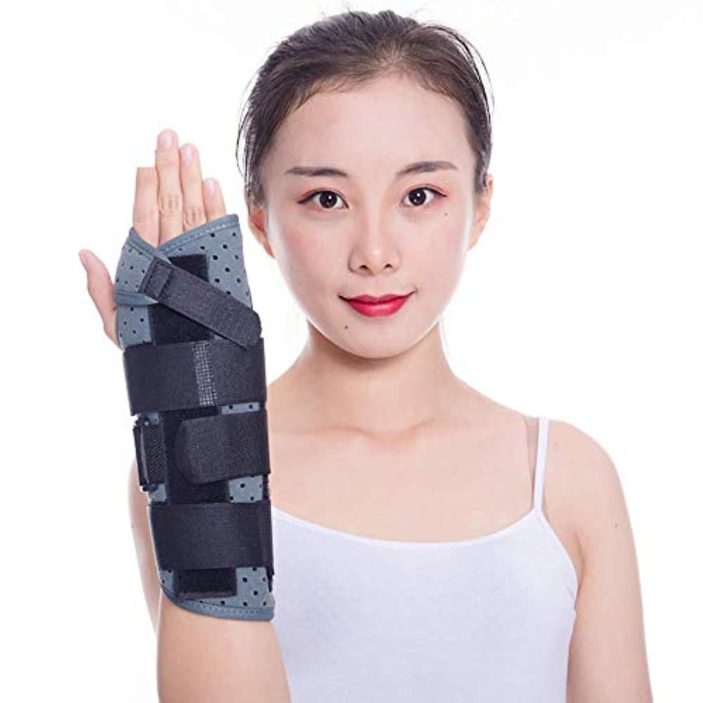 無一文放置読みやすい手根管手首支柱 - 男性と女性、腱炎、関節炎、壊れた、スポーツのけがの痛みを軽減するための夜間の睡眠中の手首のサポート,Left,L