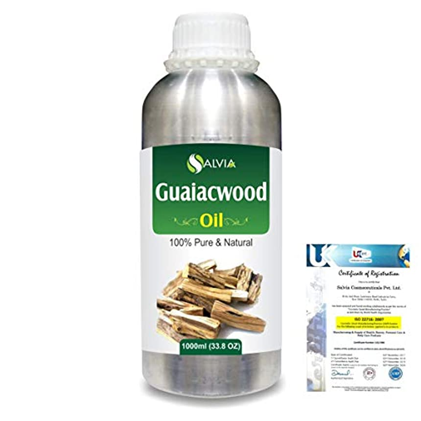革新留まる充実Guaiacwood (Bulnesia sarmientoi) 100% Pure Natural Essential Oil 1000ml/33.8fl.oz.