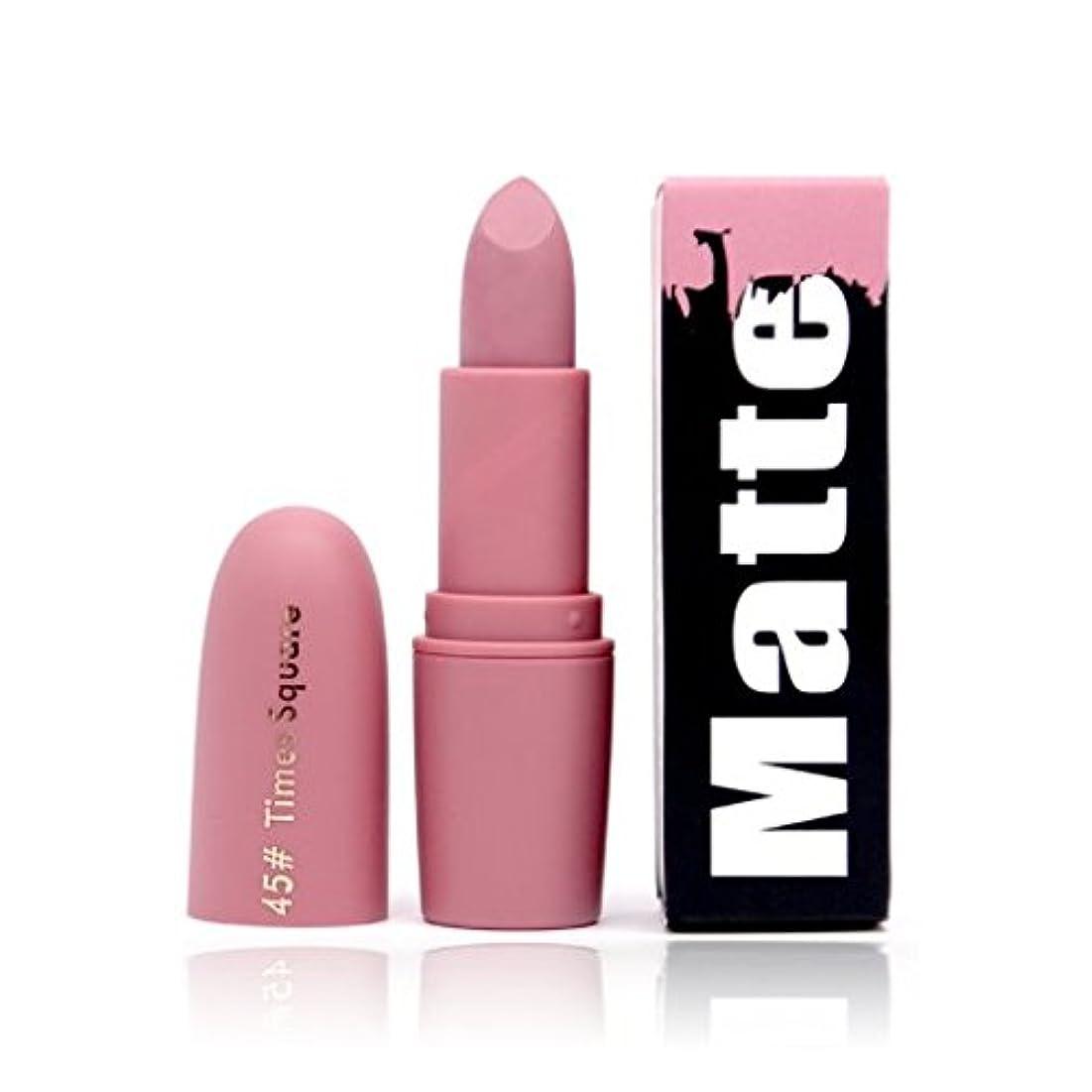 肥満シニス驚いたことにBeauty Matte Moisturizing Lipstick Makeup Lipsticks Lip Stick Waterproof Lipgloss Mate Lipsticks Cosmetic