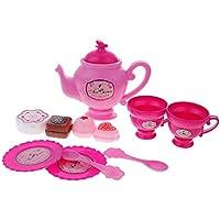 dovewill 12ピースCooking Role Play Tea Play Setカップキッチンシミュレーションモデルinteraction Parenting Kids知的学習おもちゃ