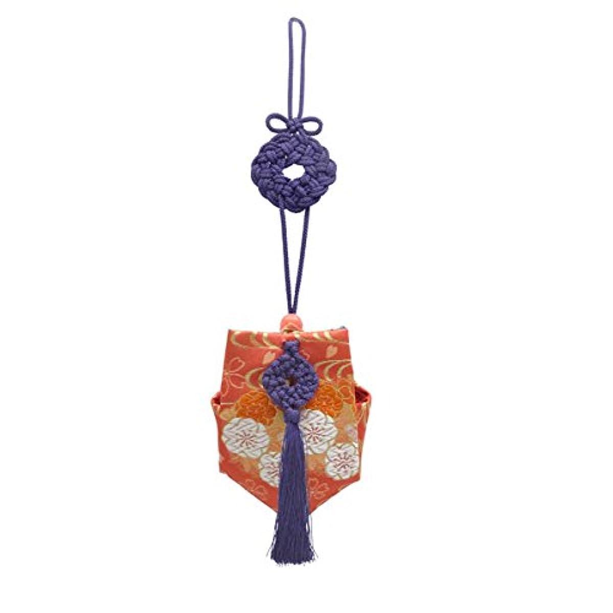 罰何もないキャリッジ訶梨勒 上品 紙箱入 紫紐/花紋