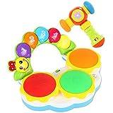子供のための音楽の電気ベビー玩具ハンドドラムタッピングインストゥルメントパーカッション、ミュージカルハンマー@遊びます