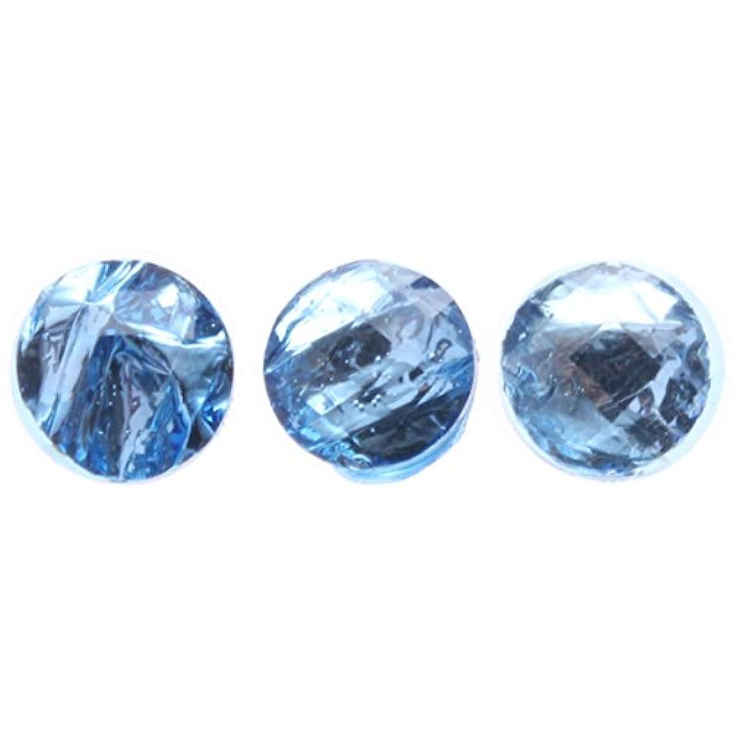 台風米ドル世界に死んだ<エトゥベラ> スペースストーンラウンド6mm(各30個) ブルー