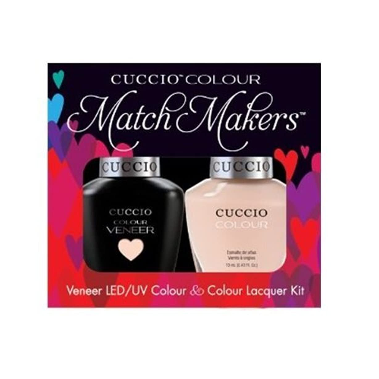 教えて錆び承認Cuccio MatchMakers Veneer & Lacquer - See It All in Montreal - 0.43oz / 13ml Each
