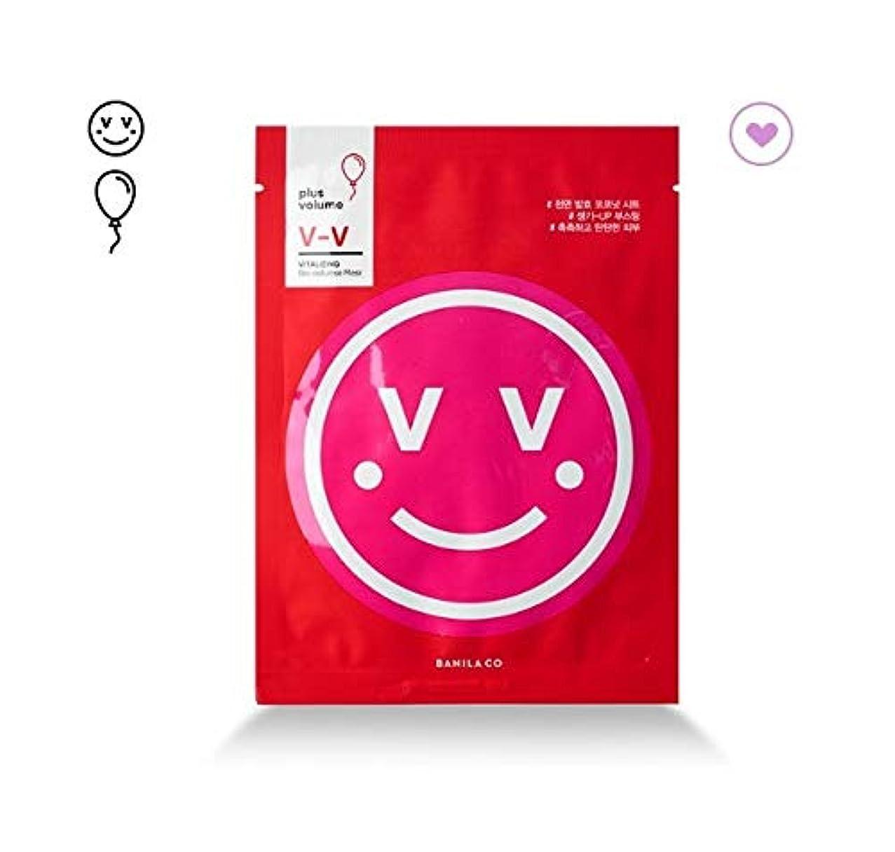 司書造船麦芽banilaco V-V Vitalizing Bioセルロースマスク/V-V Vitalizing Bio Cellulose Mask 25ml [並行輸入品]