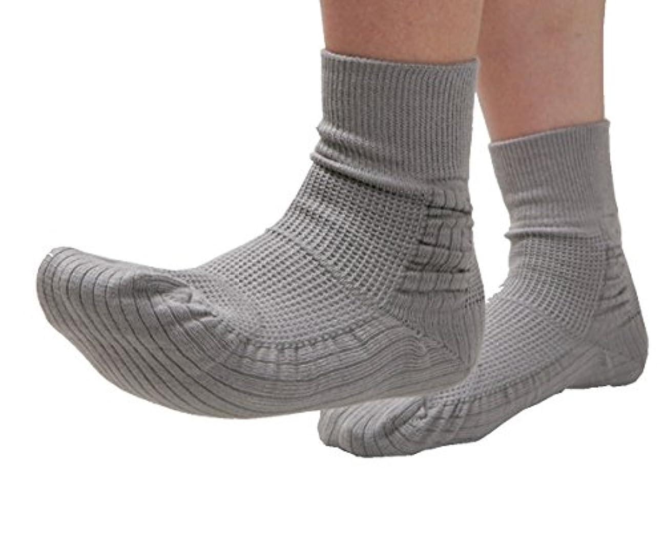 乗り出すマイナー中で転倒予防靴下つま先アップ(コーポレーションパールスター?広島大学開発商品)