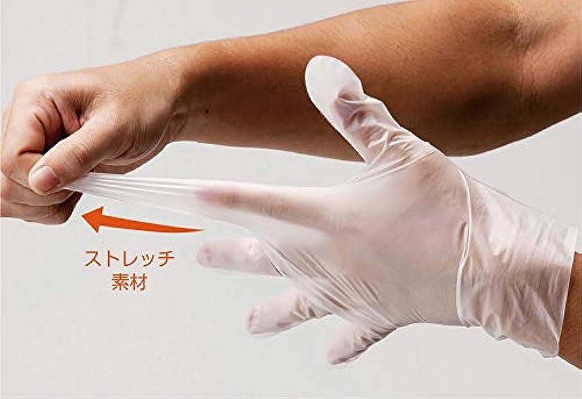 ミシン輸送位置づけるポリエチレン手袋 #2017 L 100枚入 単位:100枚入/箱
