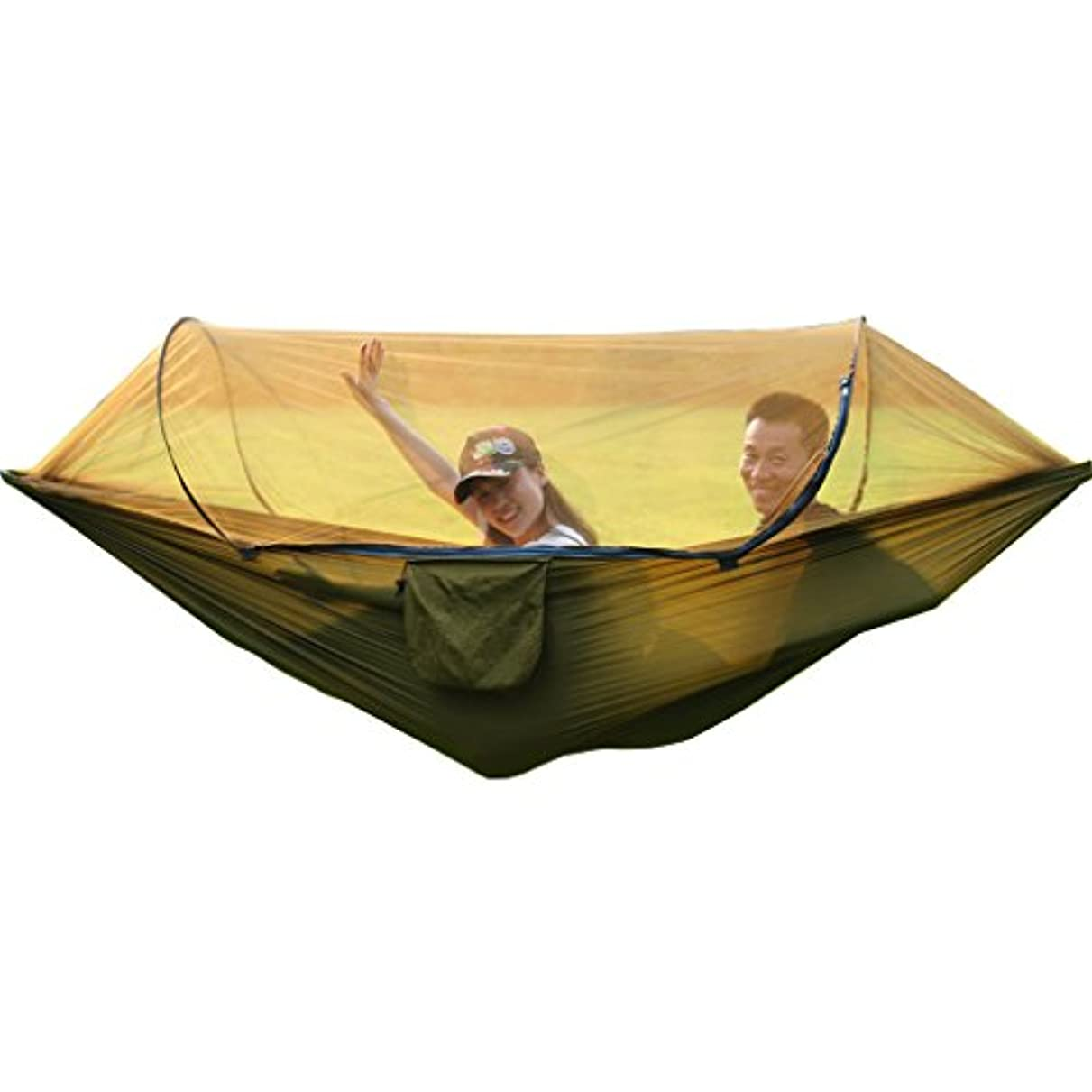 スツールエレクトロニック退屈させるXY & CF anti-mosquitoスイングアウトドアwith Mosquito NetハンモックキャンプハンモックSuitable forハイキング、ビーチ