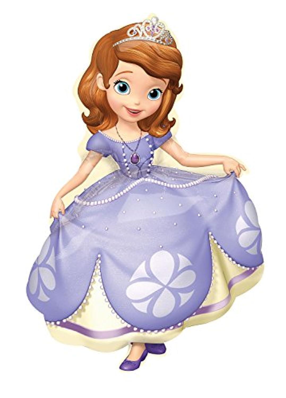 Disney Junior Sofia the First Jumbo Foil Balloon ディズニージュニアソフィアまずジャンボホイルバルーン?ハロウィン?クリスマス?