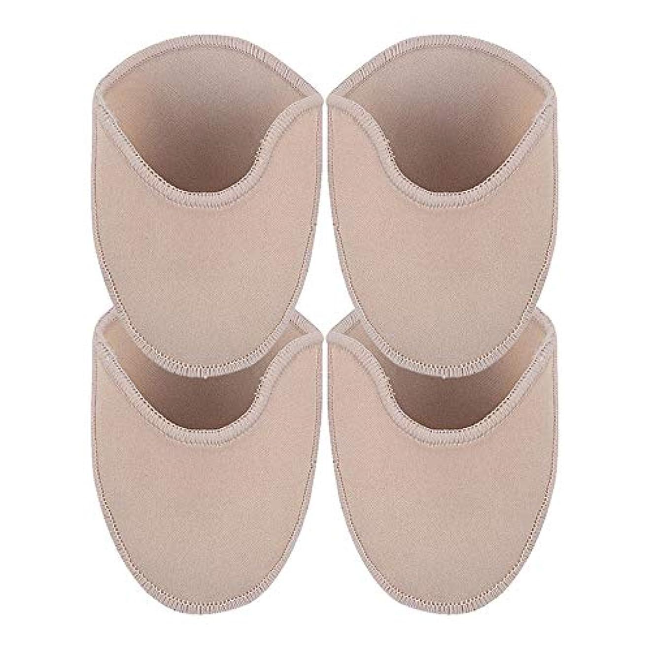 蚊毛布ベッドを作るKINDOYO 足用保護パッド - 尖ったハイヒール つま先の痛みプロテクター ソフトパッド 足のケア,長いです(2 ペア)