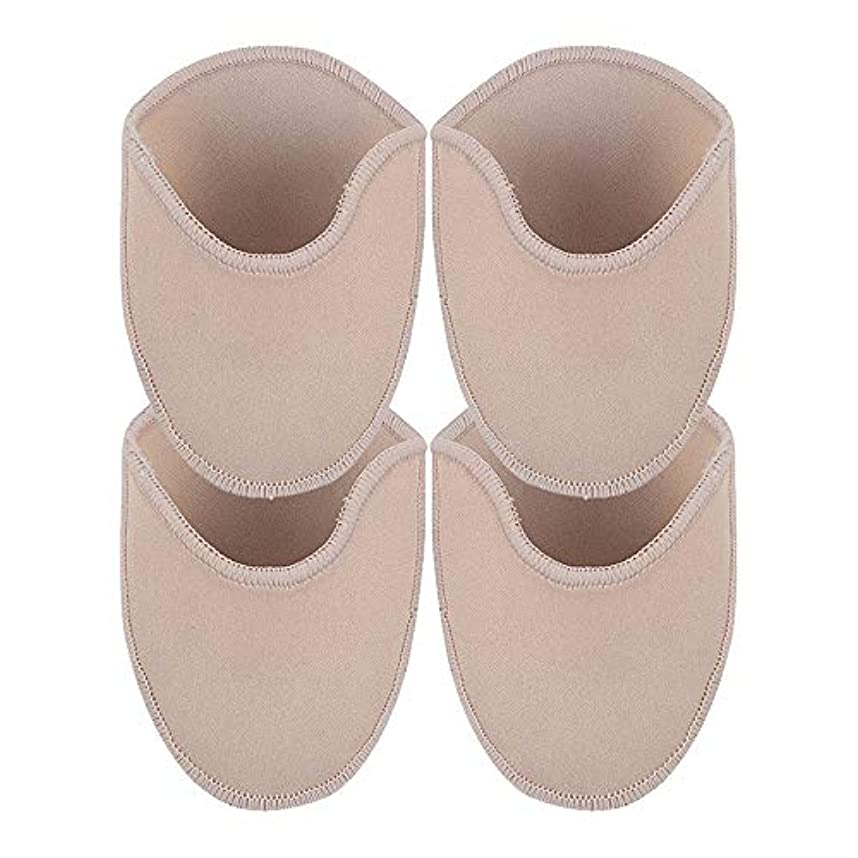 弁護人所属熟読KINDOYO 足用保護パッド - 尖ったハイヒール つま先の痛みプロテクター ソフトパッド 足のケア,長いです(2 ペア)