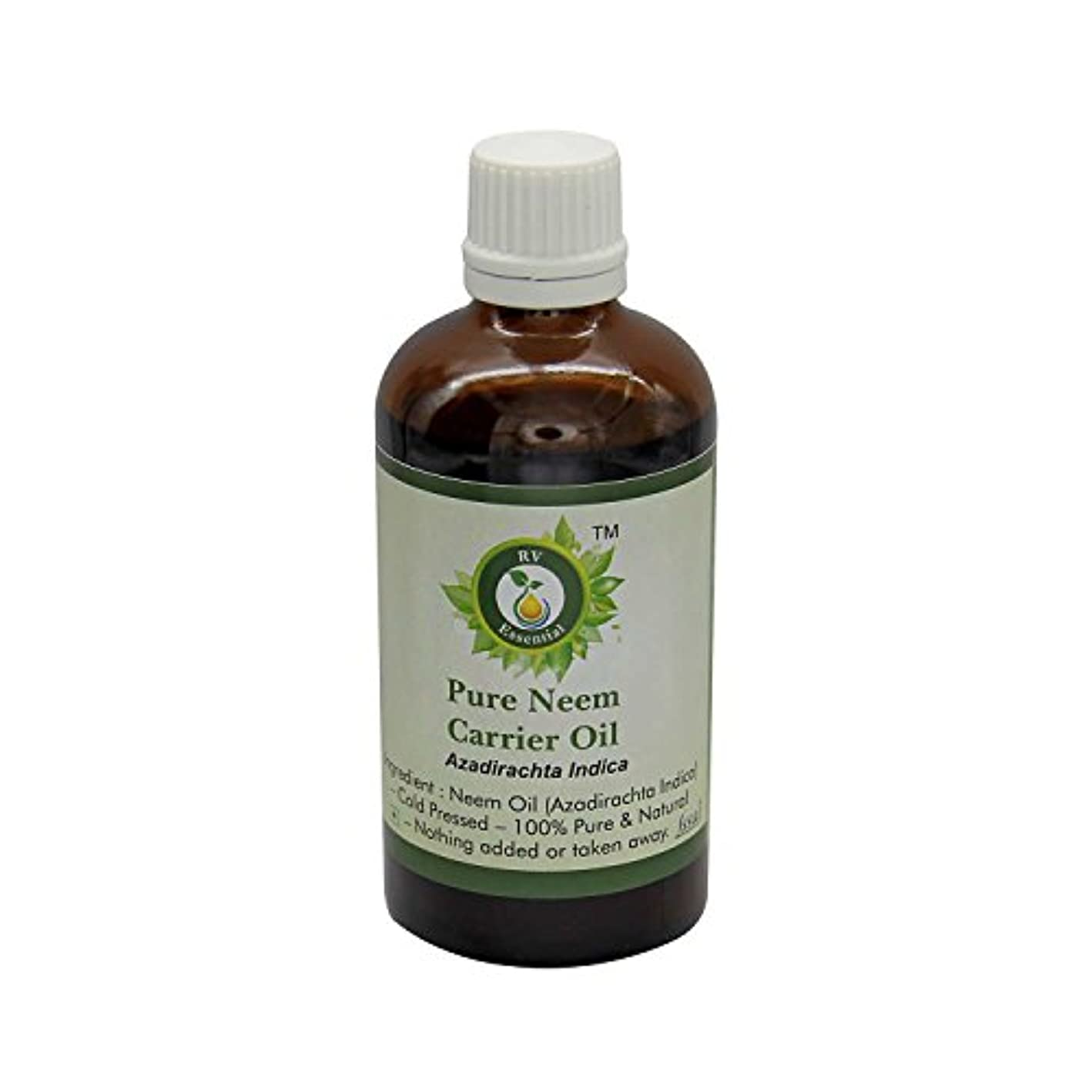 添加ビュッフェデコレーションR V Essential 純Neemキャリアオイル30ml (1.01oz)- Azadirachta Indica (100%ピュア&ナチュラルコールドPressed) Pure Neem Carrier Oil