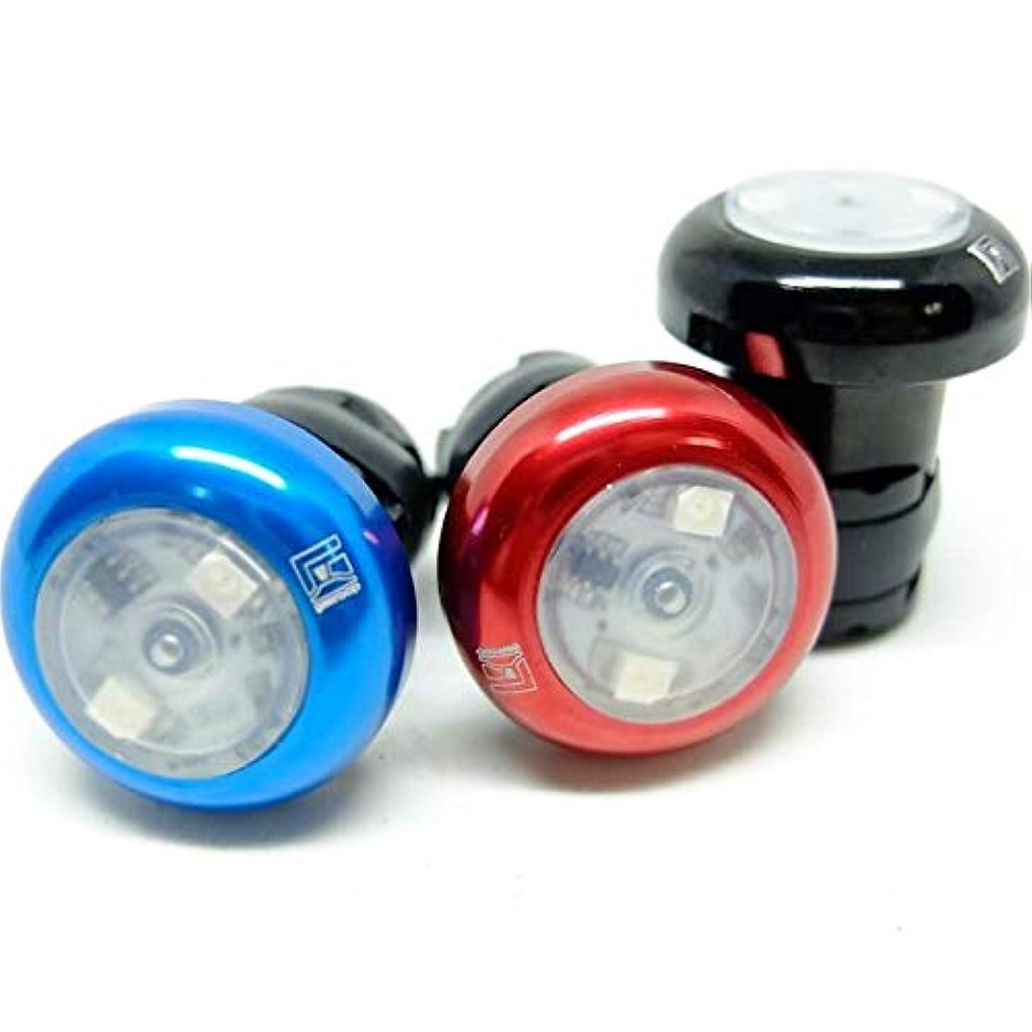 第五昇るオプショナルgearoop ギアループ HandleBar End Lights 2.0 ハンドルバー ライト- CPG-ARC, Red, 28mm【日本正規代理店品】