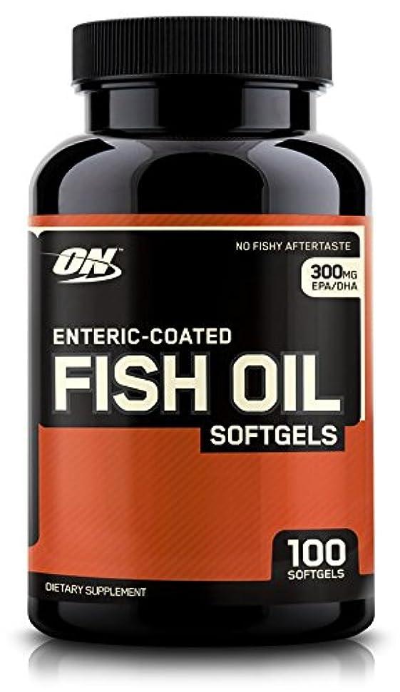 バズ提出する添加剤Enteric Coated Fish Oil 100 softgels 海外直送品