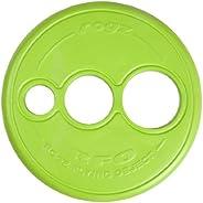 Rogz RFO Frisbee Dog Toy, Lime