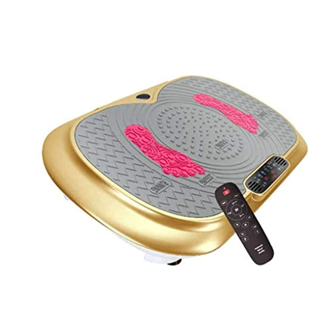 ホステス天文学がっかりした家庭用減量装置、フィットネス振動トレーナー、Bluetoothスピーカー付きフィットネス振動マシン、保存が簡単、自宅での脂肪含有量の削減 (Color : C)