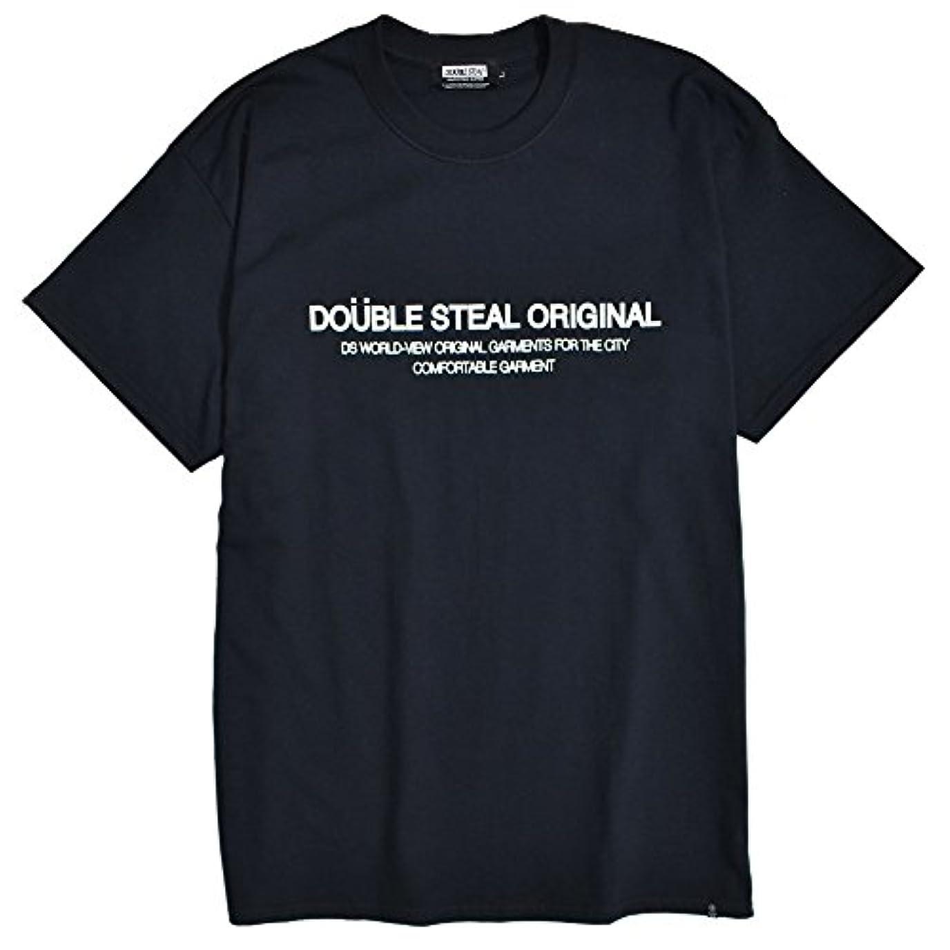 アート病気のアートダブルスティール Typography Tシャツ メンズ