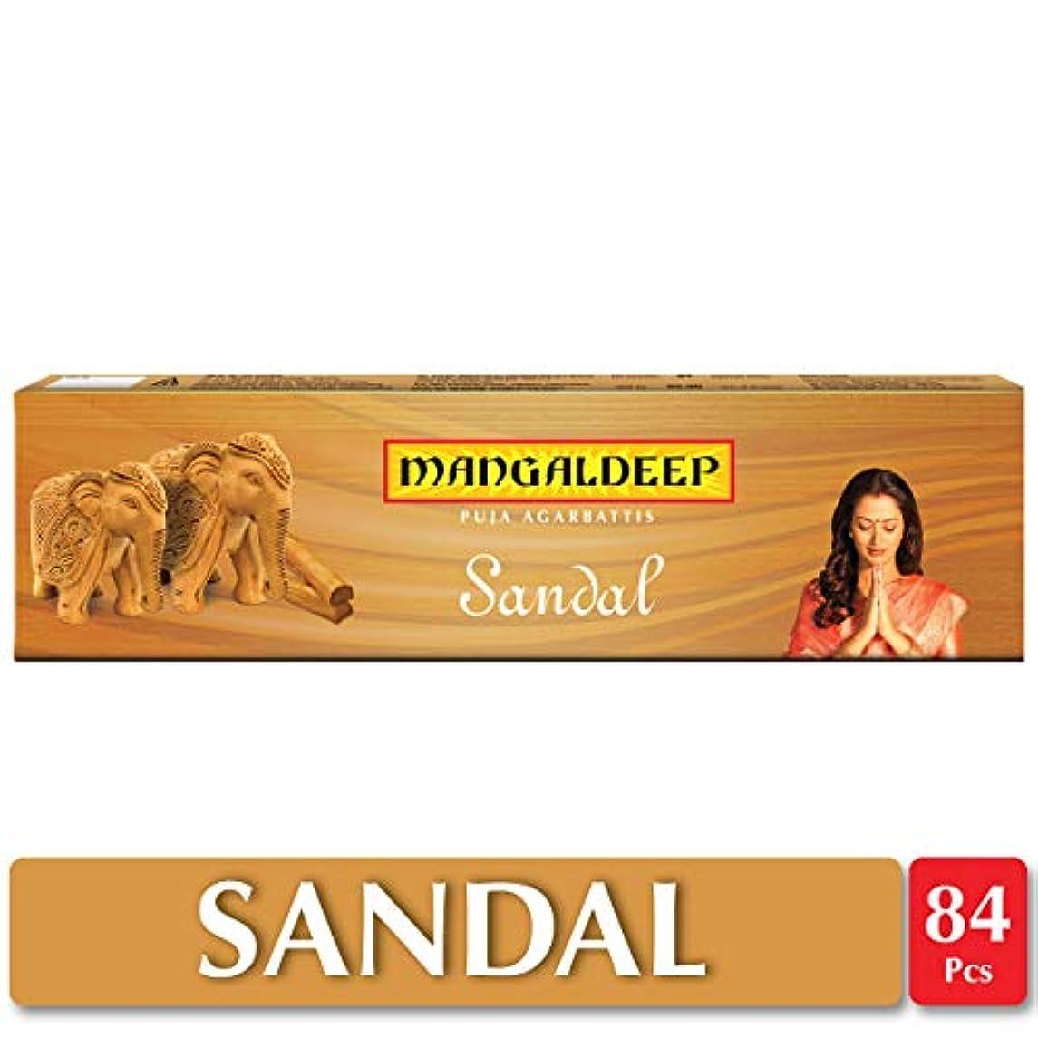 広く延期するへこみMangaldeepサンダル供養Agarbattis 85 Incense Sticks