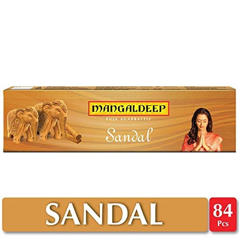 手伝うフィヨルド不規則なMangaldeepサンダル供養Agarbattis 85 Incense Sticks