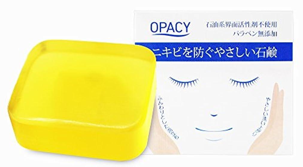 貢献する不当拮抗オパシー石鹸100g (1個)