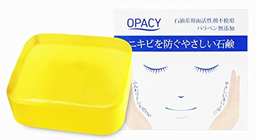 上下する治安判事平方オパシー石鹸100g (1個)