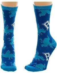 Harry Potter 靴下 House Ravenclaw Crest Logo 公式 新しい ブルー (UK Size 7-9)