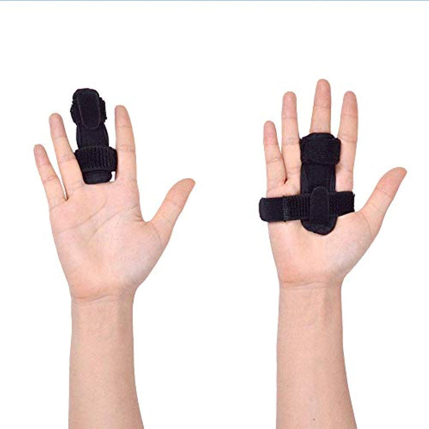 抵抗する取り戻すセージ指サポーター ばね指サポーター バネ指 腱鞘炎 指保護 固定