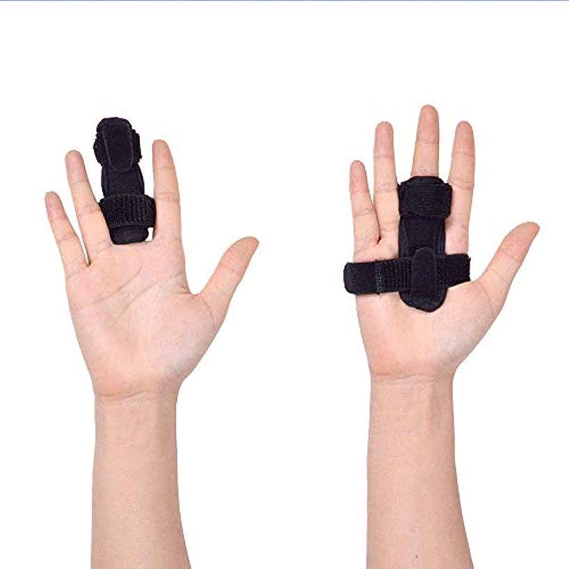 設計図かすれた全体指サポーター ばね指サポーター バネ指 腱鞘炎 指保護 固定