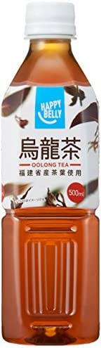 [Amazonブランド]Happy Belly 烏龍茶 500ml×24本