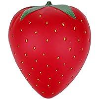 Anboor Squishies ストロベリーレッド かわいいソフト ゆっくり元に戻る香り付きフルーツスクイーズ ストレス解消 子供のおもちゃ ギフトデコレーション小道具 L DM484 FBA