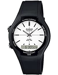 【並行輸入品】CASIO BASIC ANA-DIGI カシオ ベーシック アナデジ AW-90H-7E
