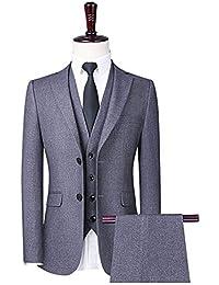 726a3473ae299 SINBOS全3色春秋suits formalフォーマルメンズ テーラードジャケット 長袖 3点セットアップ 紳士 上品 きれいめ 四季 カジュアル…