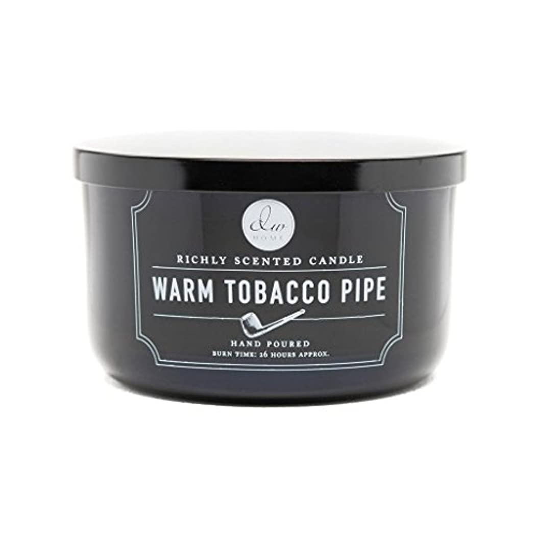 Decoware Richly Scented Warm Tobacco Pipe 3-Wick Candle 13.8 Oz. In Glass by Decoware