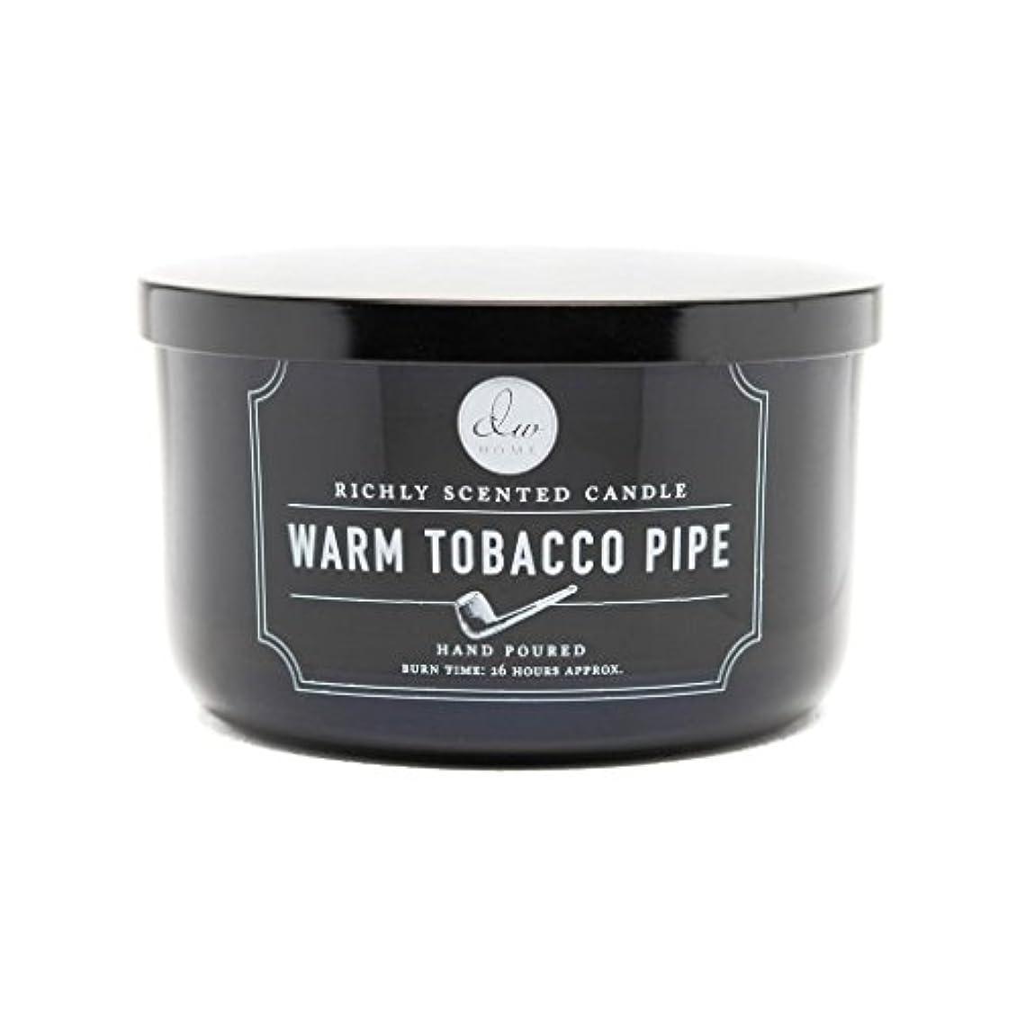 孤独な予見する合わせてDecoware Richly Scented Warm Tobacco Pipe 3-Wick Candle 13.8 Oz. In Glass by Decoware