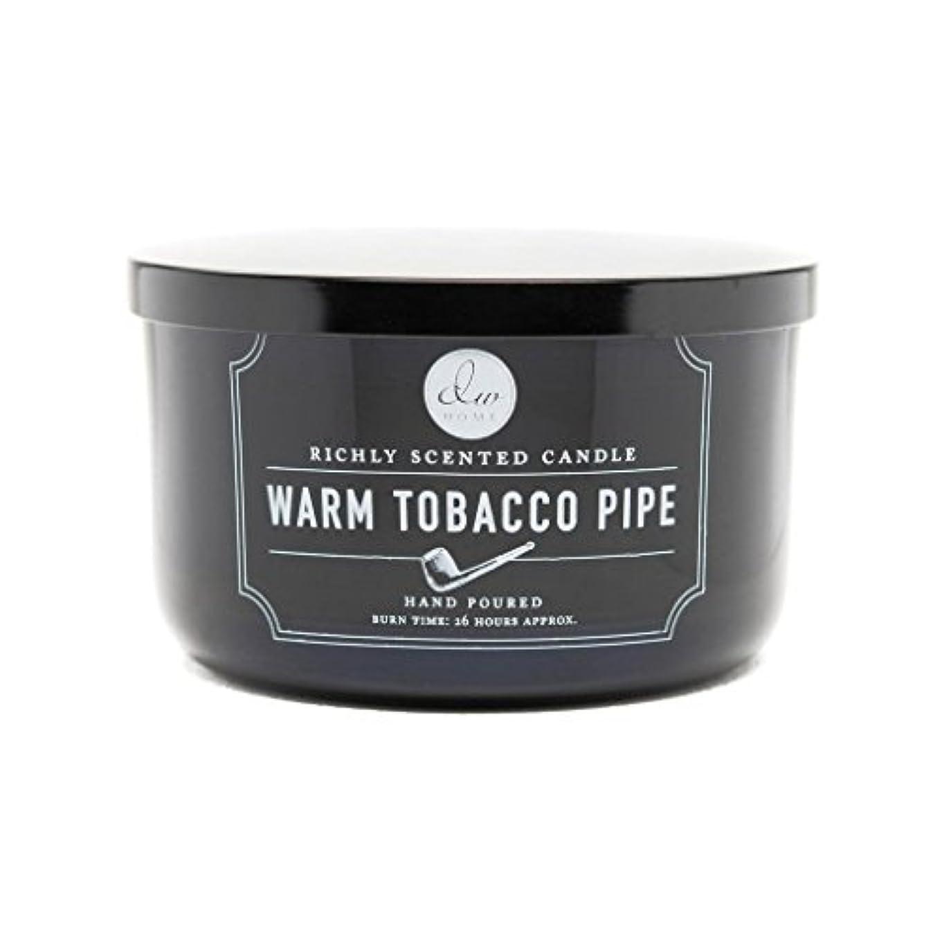 確率崇拝する高原Decoware Richly Scented Warm Tobacco Pipe 3-Wick Candle 13.8 Oz. In Glass by Decoware