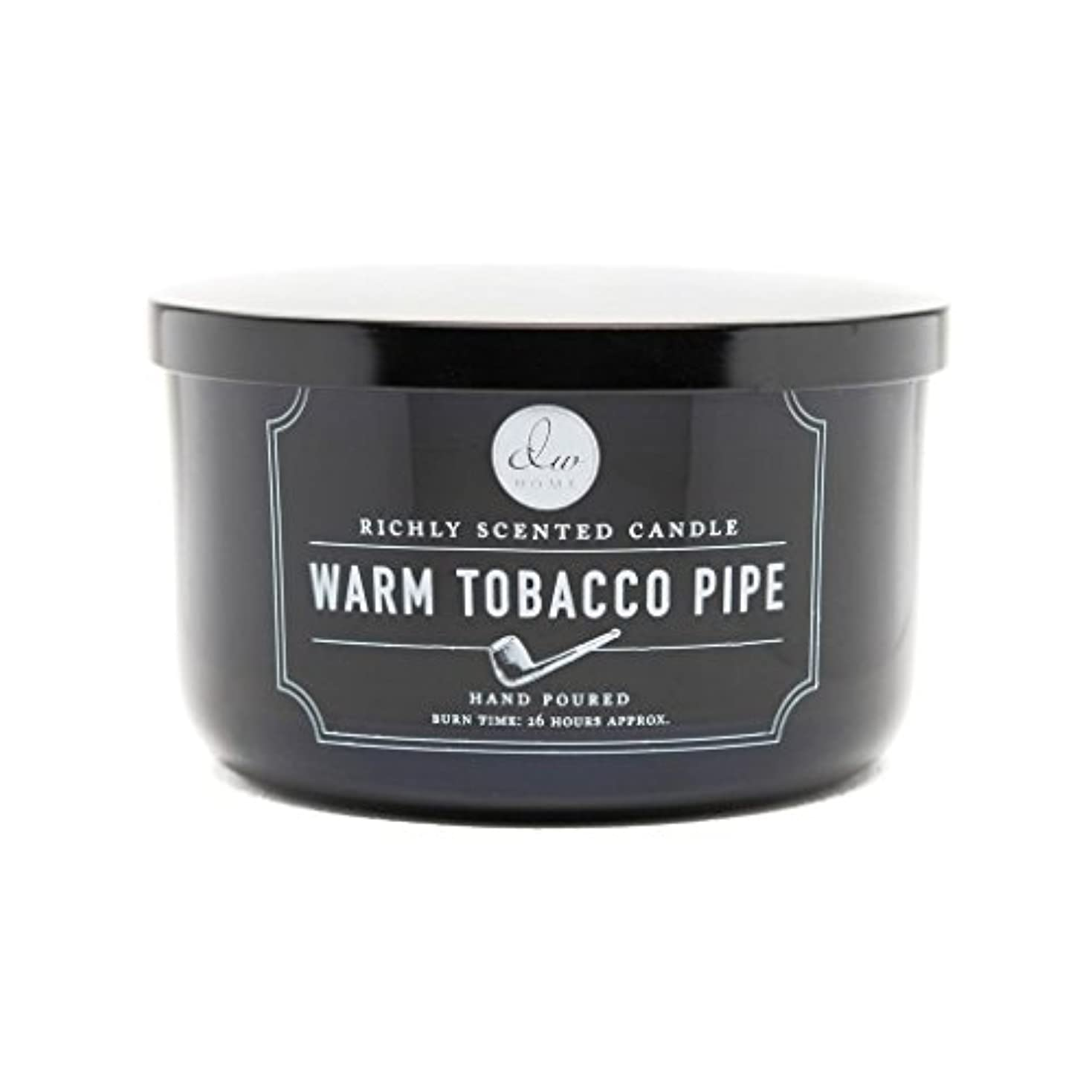 ガイド符号王朝Decoware Richly Scented Warm Tobacco Pipe 3-Wick Candle 13.8 Oz. In Glass by Decoware