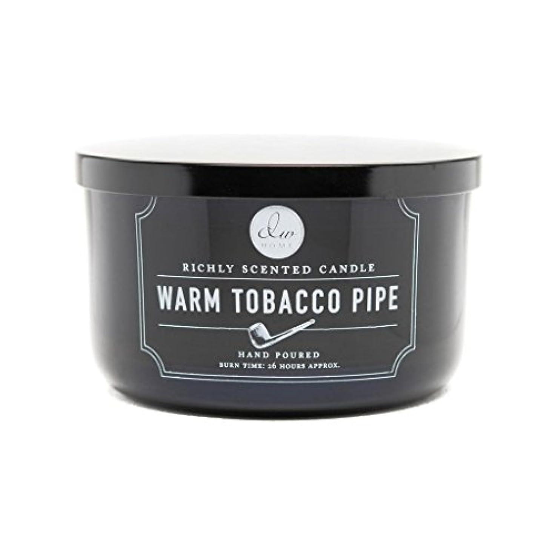 商人寮ホースDecoware Richly Scented Warm Tobacco Pipe 3-Wick Candle 13.8 Oz. In Glass by Decoware