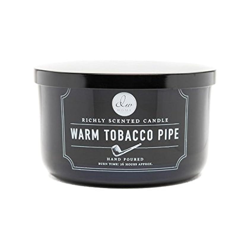責める反毒関係するDecoware Richly Scented Warm Tobacco Pipe 3-Wick Candle 13.8 Oz. In Glass by Decoware