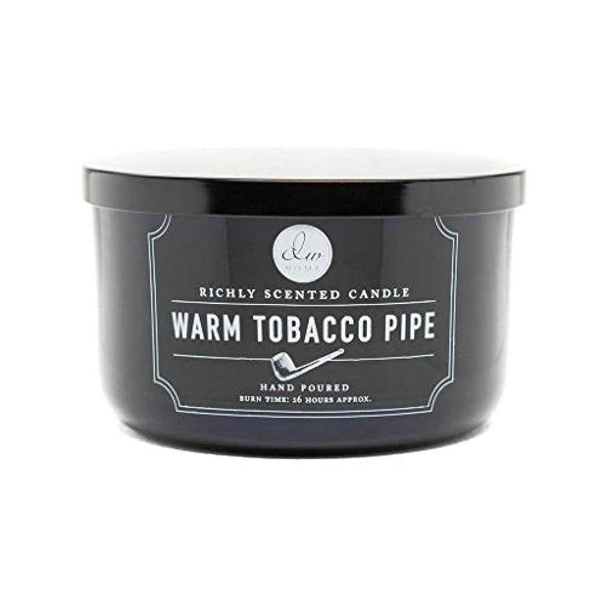 円形脚本家シャーロックホームズDecoware Richly Scented Warm Tobacco Pipe 3-Wick Candle 13.8 Oz. In Glass by Decoware