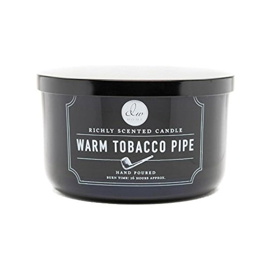 ダッシュ応用どっちでもDecoware Richly Scented Warm Tobacco Pipe 3-Wick Candle 13.8 Oz. In Glass by Decoware