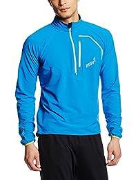 inov-8 Men's Race Elite 275 Softshell Jacket Blue/Lime Large [並行輸入品]