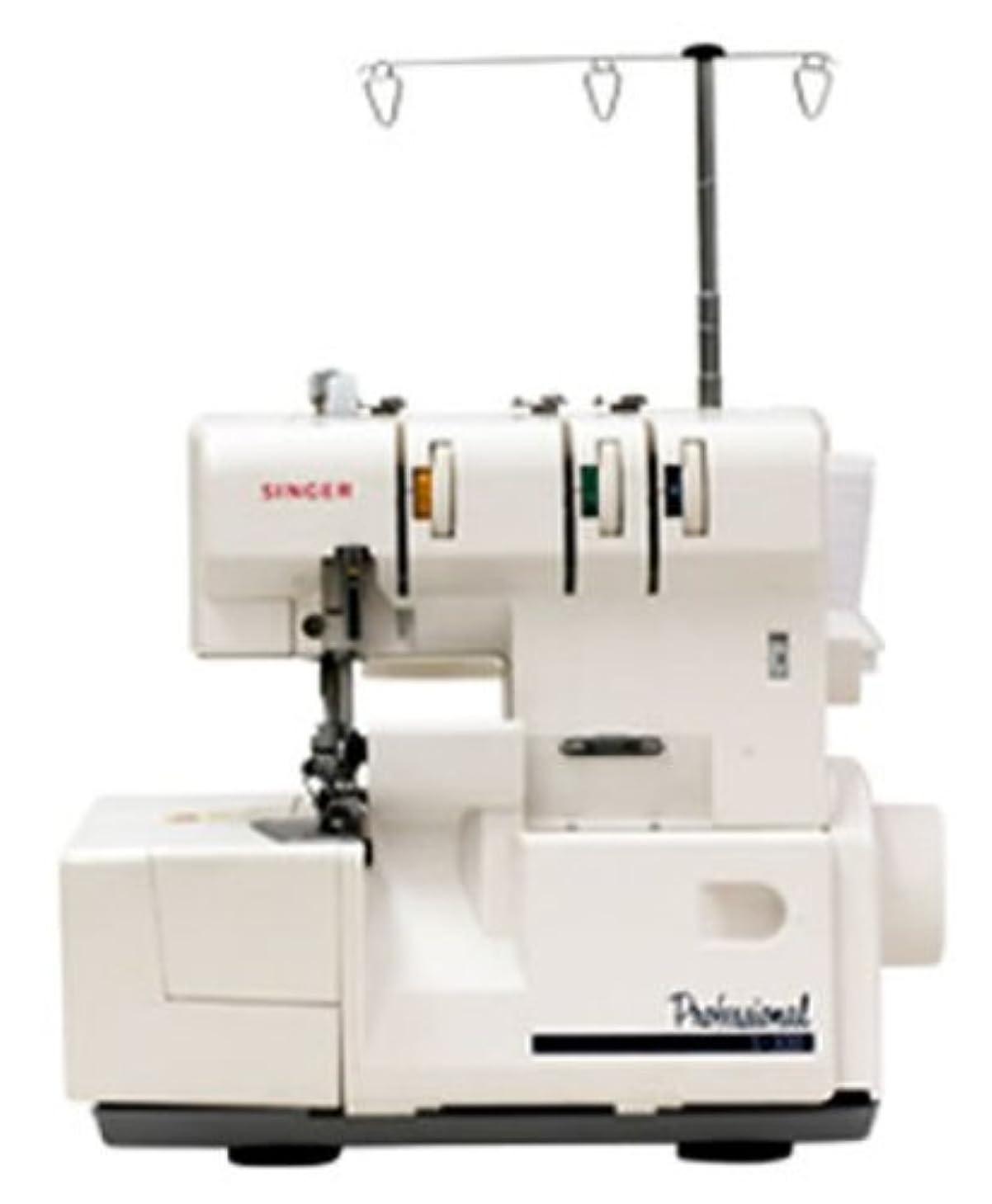 ランダムリーン矩形SINGER 3本巻きロック&縁かがりミシン(差動送り付) S-300DF