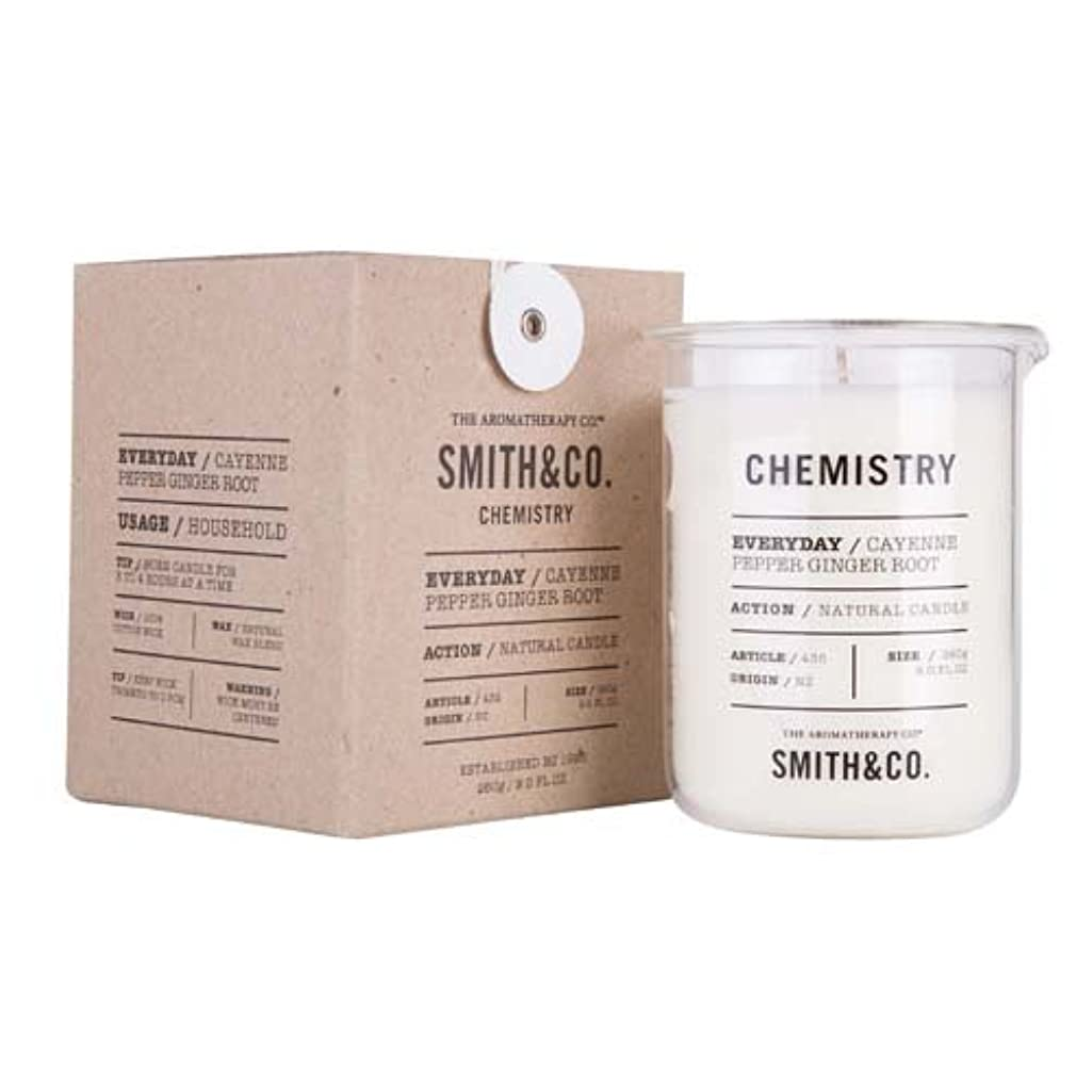 スイ煙突猟犬Smith&Co. Chemistry Candle ケミストリーキャンドル Cayenne Pepper Ginger Root