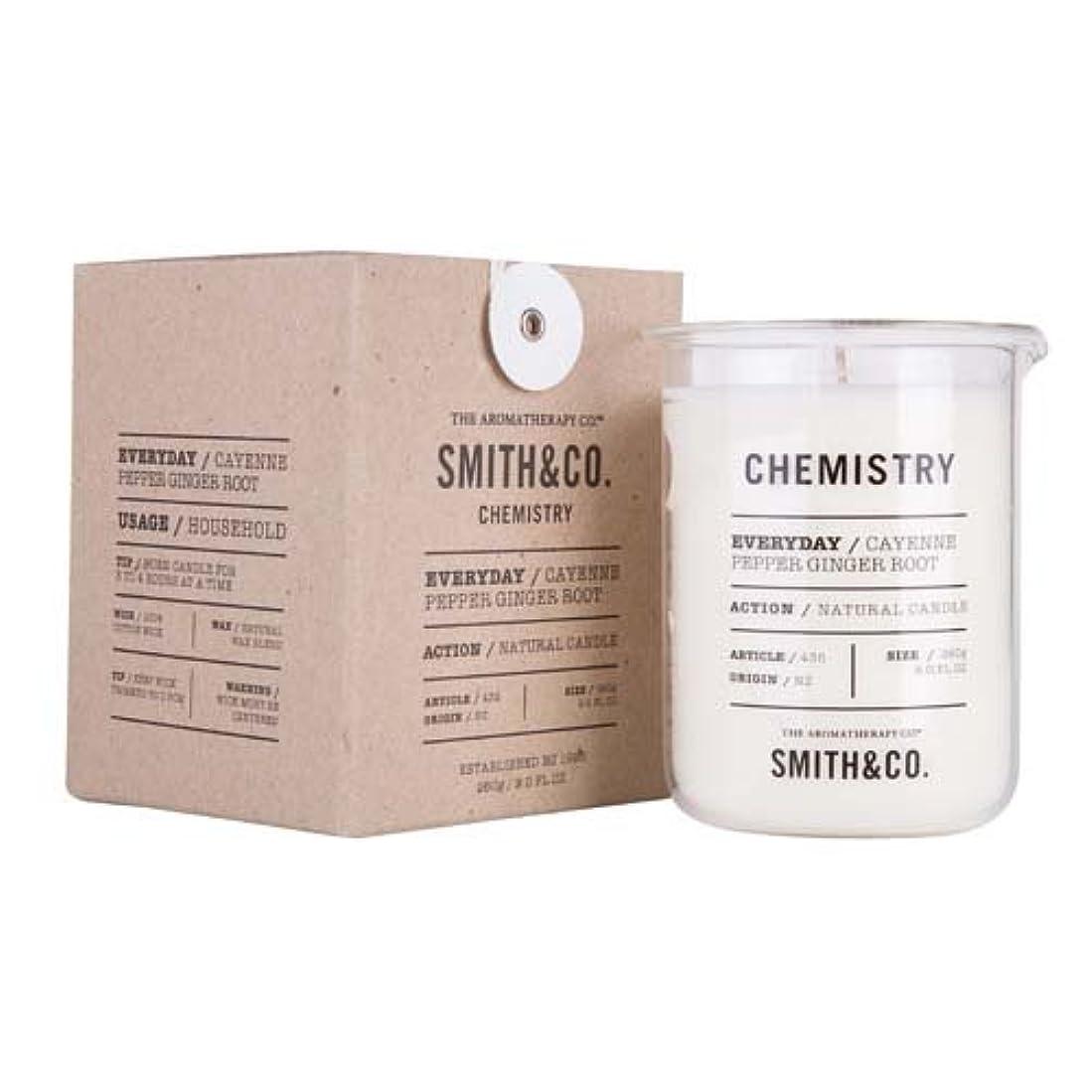 エーカー行進かんたんSmith&Co. Chemistry Candle ケミストリーキャンドル Cayenne Pepper Ginger Root