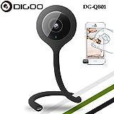 Digoo Flexible 720P Wireless WiFi Night Vision Camera Baby Monitor Home Security DG-QB01