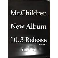 Mr.Children New Album (タイトル未定) 2018.10.3 Release 非売品 最新告知ポスター 未使用品
