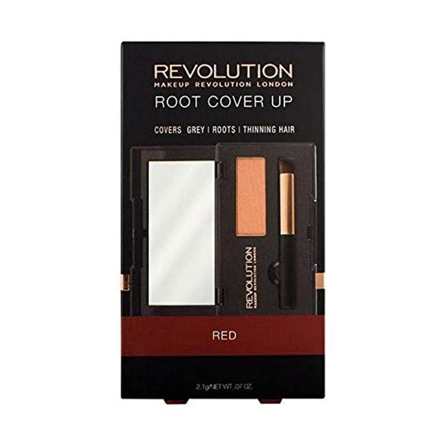 苦痛サスティーン細心の[Hair Revolution ] 赤い髪革命のルートカバーアップ - Hair Revolution Root Cover Up Red [並行輸入品]