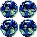 EPCO Candlepin Bowling ball-ウレタンpro-line – パープル、ブルー&ミント4つボール